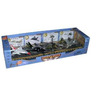 Hot Wings Military Series 4 Plane Gift Set: Home & Kitchen