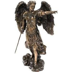 Bronze Archangel Christian Sculpture Statue Figurine