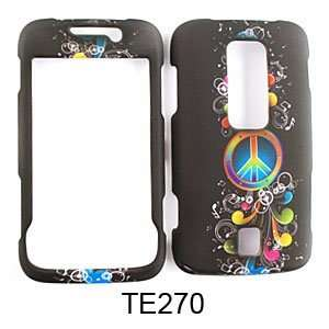 CELL PHONE CASE COVER FOR HUAWEI ASCEND M860 RAINBOW PEACE MUSIC NOTES