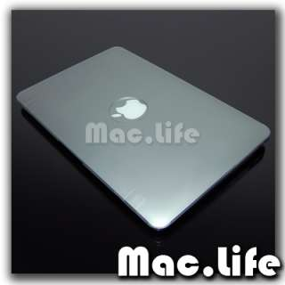 METALLIC SILVER Hard Case Cover for Macbook Air 11
