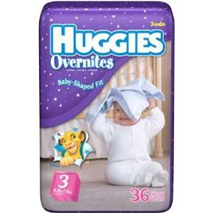 Huggies Overnites Diapers   Jumbo Pack   5 Baby