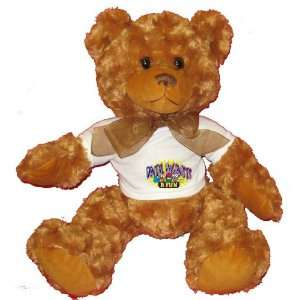 DENTAL HYGIENISTS R FUN Plush Teddy Bear with WHITE T