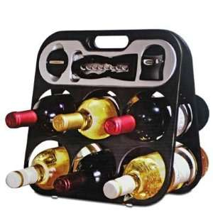 Metrokane Wine Bar & Accessories Gift Set  Grocery