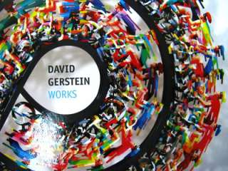 David Gerstein Works Art Book 2011 Hard Cover New