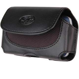 New Black Leather Holster Carrying Case Apple iPhone 3 3G 4 4S Belt