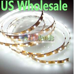 LED Strip Cool White 5M 3528 SMD 300 US FastShip InDoor Christmas