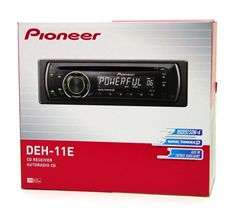 PIONEER DEH 11E CAR STEREO CD PLAYER 50x4 AMFM RECEIVER