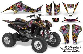 AMR RACING QUAD DECALS ACCESSORIES GRAPHICS KIT LTZ 400 LTZ400 SUZUKI