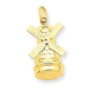 Genuine IceCarats Designer Jewelry Gift 14K Windmill Charm