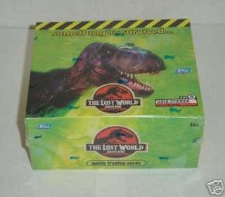Jurassic Park Lost World Trading Card Box