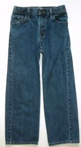 Levi Strauss Signature Loose Fit Jeans Adjustable Waistband Boys Sz 14