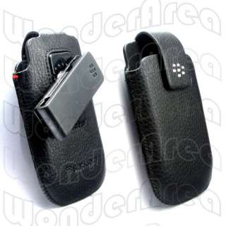 Leather Case Swivel Holster for BlackBerry Torch 9800 9810