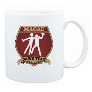 New  Macau Drink Team Sign   Drunks Shield  Mug Country