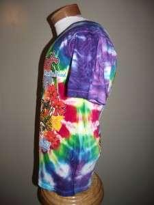JIMMY BUFFETT CORAL REEFER Mens M medium Tie Dye Shirt
