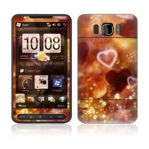 Love Love Love Decorative Skin Cover Decal Sticker for HTC HD2 (T