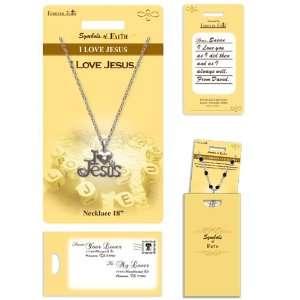 I Love Jesus Necklace ~ Fashion Jewelry