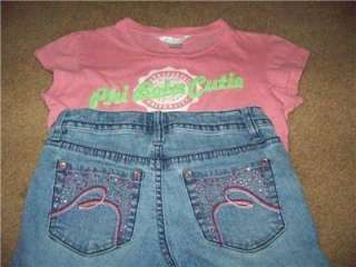 HUGE 36pc.GIRLS SIZE 7/8 SUMMER CLOTHES~JUSTICE~LIMITED*TOO~GAP~OLD