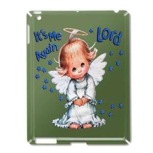 iPad 2 Case Green of Its Me Again Lord Prayer Angel