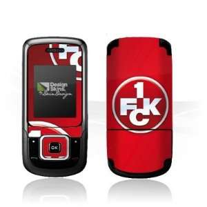 Design Skins for Samsung E1360   1. FCK Logo Design Folie