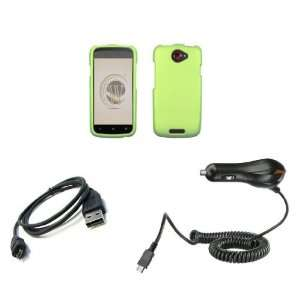 HTC One S (T Mobile) Premium Combo Pack   Neon Green Hard