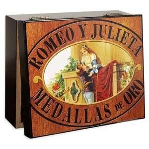 Romeo y Julieta Viejo Logo Cigar Humidor 20 Capacity
