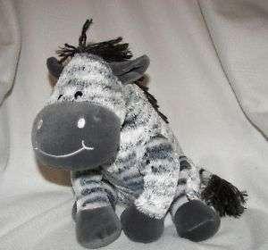 Koala Baby Black White Striped Zebra Plush Stuffed Toy