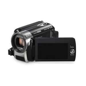 HDD and SD Card Standard Definition Camcorder   Black