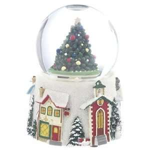 Personalized Medium Tree Snow Globe Christmas Ornament