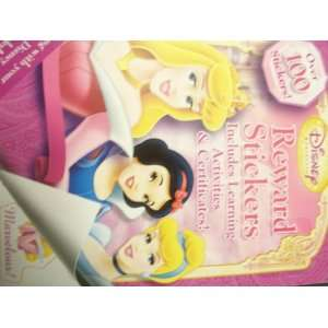 Disney Princess Reward Stickers (9781593949310) Books