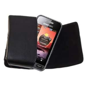Case with Belt Loop for Samsung S5230 Tocco Lite   Black Electronics