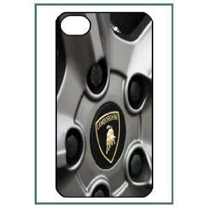 Lamborghini iPhone 4 iPhone4 Black Designer Hard Case
