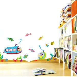 Nursery/Kids Room Peel & Stick Removable Home Wall Art Sticker Decals