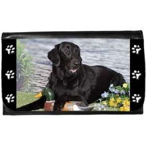 Flat Coated Retriever Wallet