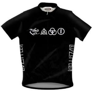 Primal Wear Mens Led Zeppelin Symbols Rock Short Sleeve
