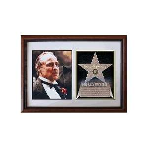 Marlon Brando 8 x 10 Custom Framed Hollywood Stars
