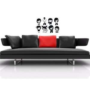 FASHION MODERN EMO IMAGES WALL VINYL STICKER DECALS ART