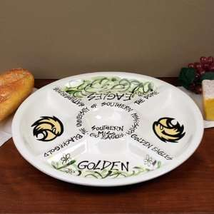 Southern Miss Golden Eagles Ceramic Veggie Tray Sports