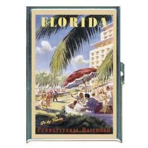 FLORIDA PENNSYLVANIA RAILROAD TRAIN ID CREDIT CARD WALLET
