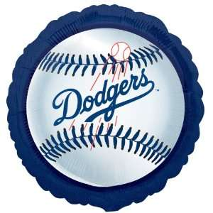 Lets Party By Los Angeles Dodgers Baseball Foil Balloon
