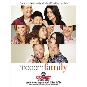 Modern Family (TV) Poster (11 x 17 Inches   28cm x 44cm) (2009) Style