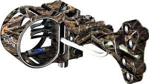 NEW G5 Rock lost Camo Bow Sight .019 Pins Right or Left Hand Use