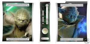 STAR WARS YODA Xbox 360 Vinyl Skin