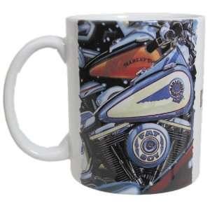 Harley Davidson Fat Boy Coffee Mug