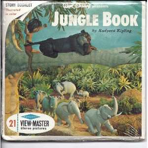 Walt Disneys Jungle Book 3d View Master 3 Reel Packet Toys & Games