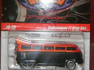 HOT WHEELS 10 PHILS GARAGE #30 VW T1 DRAG BUS HOTWHEELS
