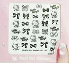 2011 New Hello Kitty Nail Art Sticker #Bow 2
