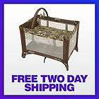 Play Gramercy Pattern Portable Crib Bassinet Travel Lite Music/Lts