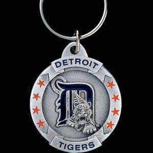 DETROIT TIGERS OFFICIAL LOGO SCULPTED KEY CHAINS