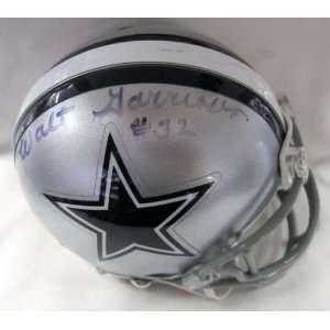 Autographed / Signed Dallas Cowboys Mini Helmet