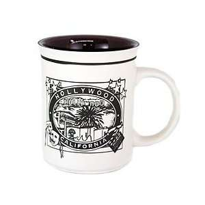Hollywood Line Art Coffee Mug Home & Kitchen
